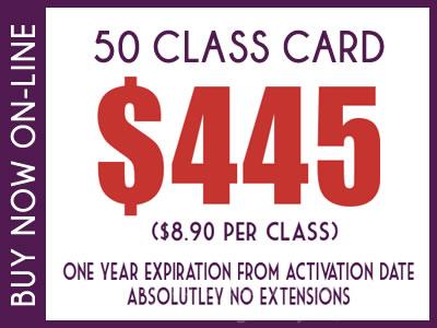 50 Class Card $445