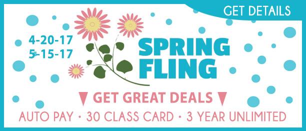 Hot Yoga Pasadena Spring Fling Specials