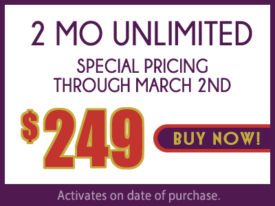 2 month Unlimited $240