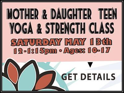 Mother Daughter Teen Yoga
